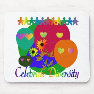 Celebrate Diversity Mouse Pad