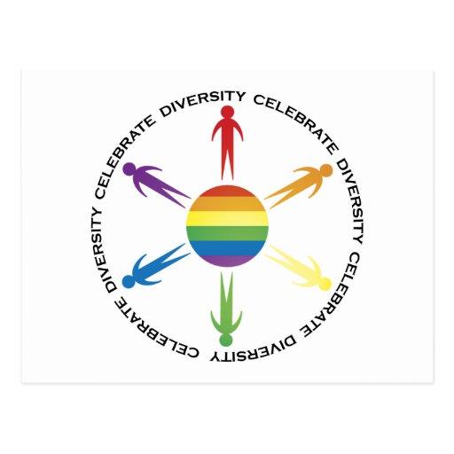 Celebrate Diversity Postcards