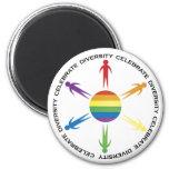 Celebrate Diversity Refrigerator Magnets