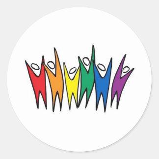 Celebrate DIversity Round Sticker