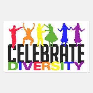 Celebrate Diversity stickers