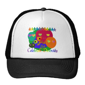 Celebrate Diversity Trucker Hat