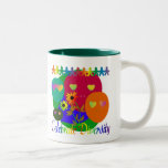 Celebrate Diversity Two-Tone Coffee Mug