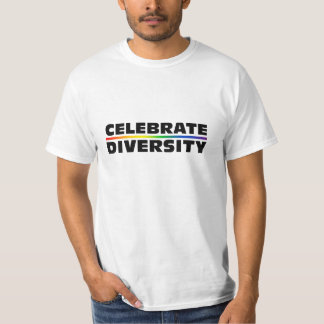 Celebrate Diversity Value T-Shirt