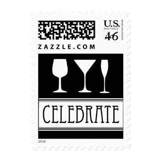 Celebrate Drinks Postage