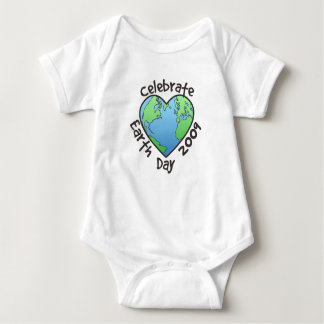 Celebrate Earth Day 2009 Baby Bodysuit