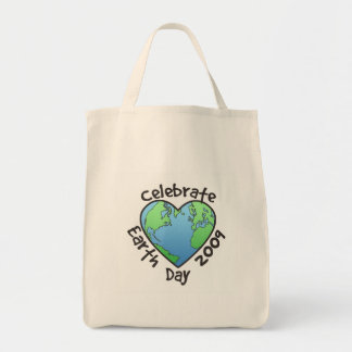 Celebrate Earth Day 2009 Canvas Bags