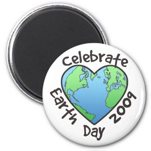 Celebrate Earth Day 2009 Fridge Magnets