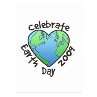 Celebrate Earth Day 2009 Postcard