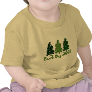 Celebrate Earth Day 2009 T-shirts