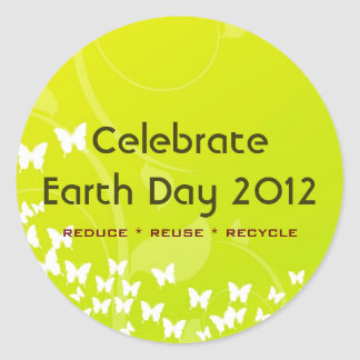 Celebrate Earth Day 20112 Classroom Stickers