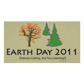 Celebrate Earth Day 2011 Poster