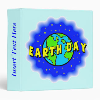 Celebrate Earth Day Avery Binder
