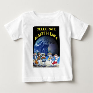 Celebrate Earth Day Baby T-Shirt