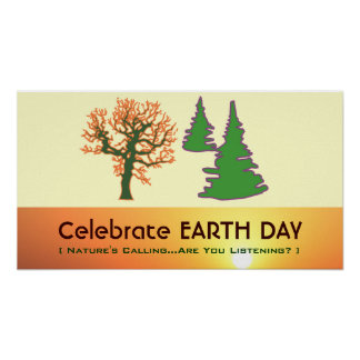 Celebrate EARTH DAY Classroom Poster