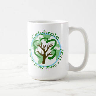 Celebrate Earth Day Every Day Coffee Mug