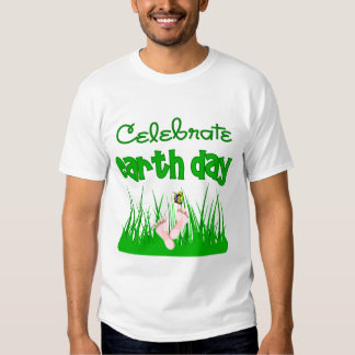 Celebrate Earth Day Funny Toddler T-Shirt