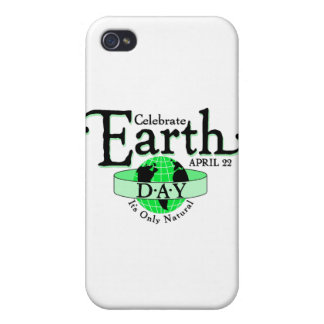 Celebrate Earth Day iPhone 4/4S Covers