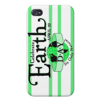 Celebrate Earth Day iPhone 4/4S Cases