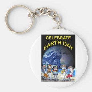Celebrate Earth Day Key Chain