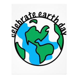 Celebrate Earth Day Letterhead