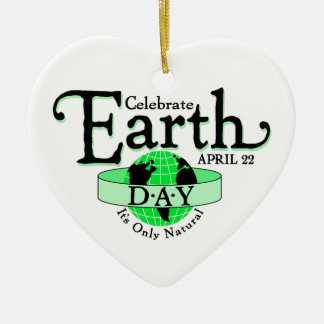 Celebrate Earth Day Christmas Tree Ornaments