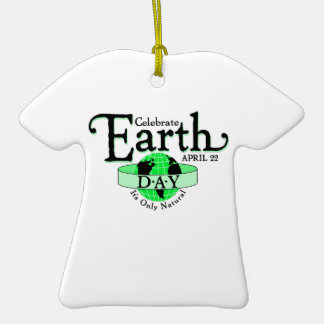 Celebrate Earth Day Christmas Ornaments
