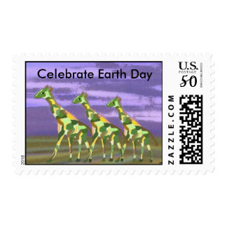 Celebrate Earth Day Postage