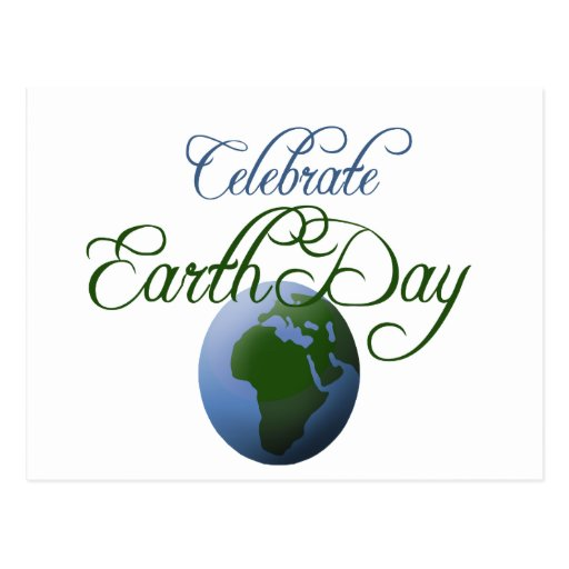 Celebrate Earth Day Postcards