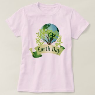 CELEBRATE! Earth Day T-Shirt