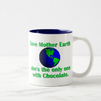 Celebrate Earth Day Two-Tone Coffee Mug
