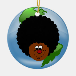 Celebrate Earth Day: Word to Your Mother Earth Christmas Tree Ornament
