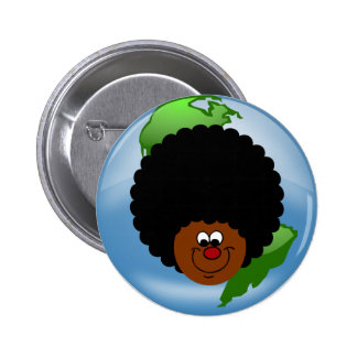 Celebrate Earth Day: Word to Your Mother Earth Pinback Button