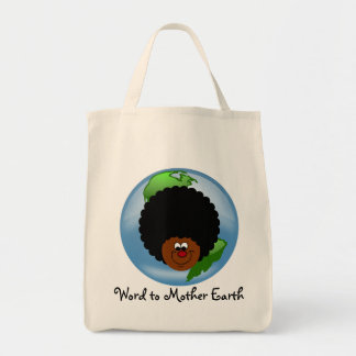 Celebrate Earth Day: Word to Your Mother Earth Tote Bag