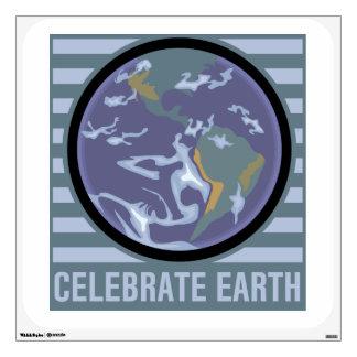 Celebrate Earth Wall Sticker