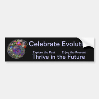 Celebrate Evolution Bumper Sticker