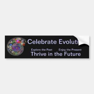 Celebrate Evolution Bumper Sticker