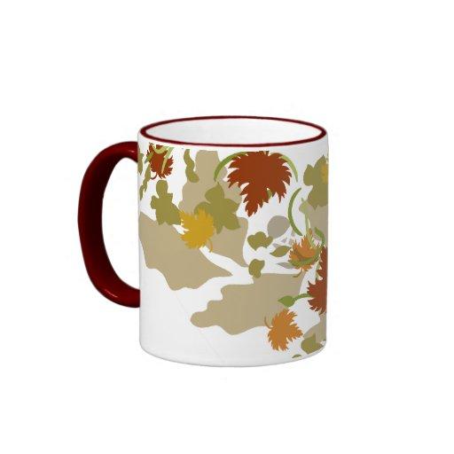 Celebrate Fall! Ringer Coffee Mug