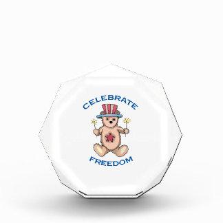 Celebrate Freedom ! Acrylic Award