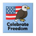 Celebrate Freedom Ceramic Tile