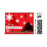 Celebrate Freedom Military Christmas Stamp