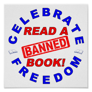 Celebrate Freedom Read a BANNED Book Poster