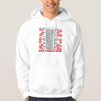 Celebrate Freedom!  Read a BANNED Book! (stamp) Hoodie