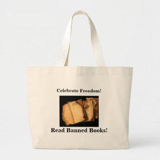 Celebrate Freedom!, Read Banned Books Jumbo Tote Bag