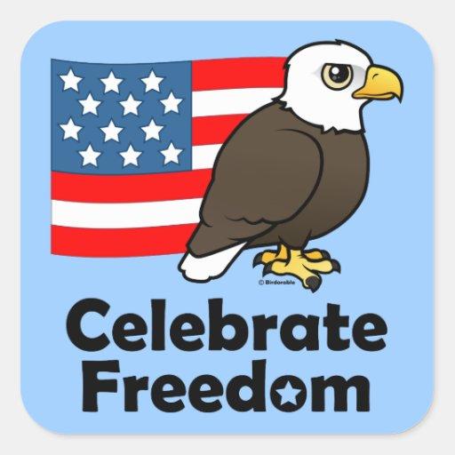 Celebrate Freedom Sticker
