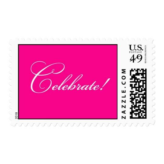 Celebrate - Fuschia Postage
