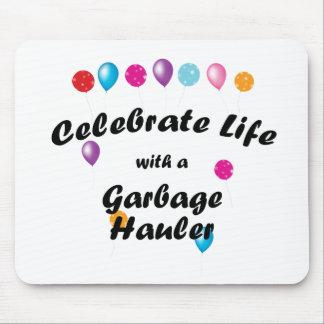 Celebrate Garbage Hauler Mousepads