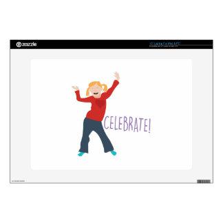 Celebrate Girl Laptop Decals