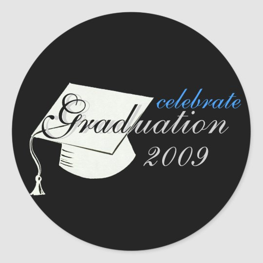 Celebrate Graduation 2009 Sticker