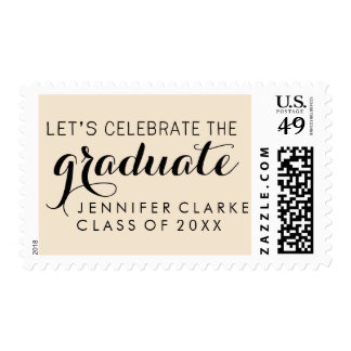 CELEBRATE GRADUATION PARTY POSTAGE